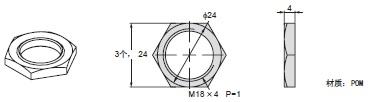 E3FA / E3RA / E3FB 外形尺寸 9