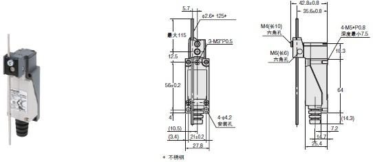 D4V-N 外形尺寸 2