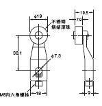 D4A-□N 外形尺寸 54 D4A-A10_Dim
