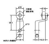 D4A-□N 外形尺寸 57 D4A-A20_Dim