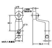 D4A-□N 外形尺寸 58 D4A-A30_Dim