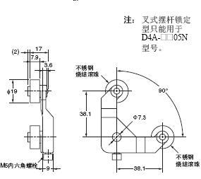 D4A-□N 外形尺寸 68 D4A-E30_Dim