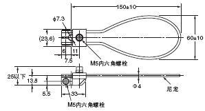 D4A-□N 外形尺寸 76 D4A-F00_Dim