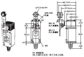 HL-5000 外形尺寸 6 HL-5030_Dim