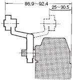 D4A-□N 外形尺寸 90 D4A-A30_Dim