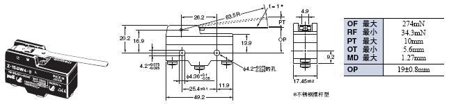 Z 外形尺寸 31 Z-15WG4-B_Dim