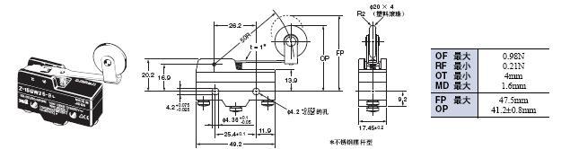 Z 外形尺寸 41 Z-15GW25-B_Dim