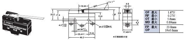 Z 外形尺寸 45 Z-15GM-B_Dim