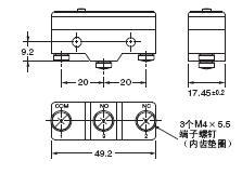 Z 外形尺寸 53 Z_Terminals
