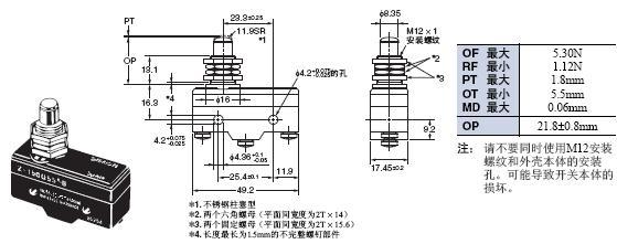 Z 外形尺寸 66 Z-15GQ55-B_Dim