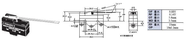 Z 外形尺寸 78 Z-15GW4455-B_Dim