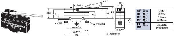 Z 外形尺寸 88 Z-15GM55-B_Dim