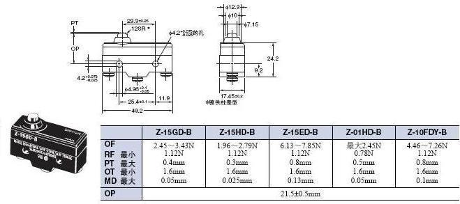Z 外形尺寸 14 Z-15GD-B_Dim