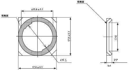 A16 外形尺寸 23 A16_Lock Ring_Dim