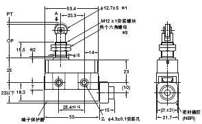 D4MC 外形尺寸 9 D4MC-5020