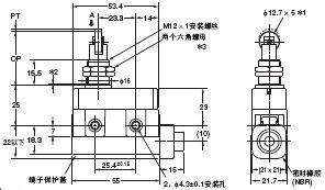 D4MC 外形尺寸 14 D4MC-5040_Dim