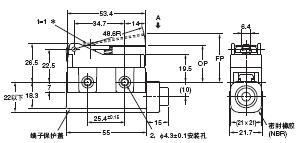 D4MC 外形尺寸 23 D4MC-1020_Dim