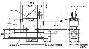 D4MC 外形尺寸 33 D4MC-2020_Dim