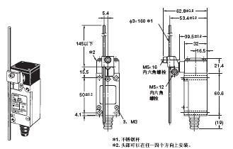 HL-5000 外形尺寸 10 HL-5050_Dim
