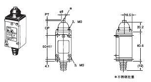 HL-5000 外形尺寸 11 HL-5100_Dim