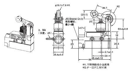 ZE / ZV / ZV2 / XE / XV / XV2 外形尺寸 21 ZE-NA2-2_Dim