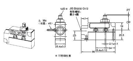 ZE / ZV / ZV2 / XE / XV / XV2 外形尺寸 3 ZE-Q-2_Dim