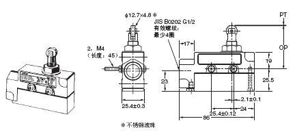 ZE / ZV / ZV2 / XE / XV / XV2 外形尺寸 5 ZE-Q22-2_Dim