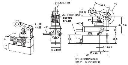 ZE / ZV / ZV2 / XE / XV / XV2 外形尺寸 9 ZE-QA2-2_Dim
