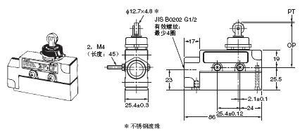 ZE / ZV / ZV2 / XE / XV / XV2 外形尺寸 17 ZE-N22-2_Dim